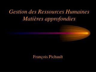 Gestion des Ressources Humaines Mati