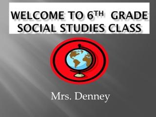 6th Grade Current Events-Social Studies