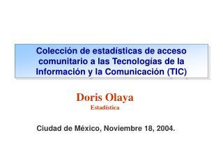 Ciudad de M xico, Noviembre 18, 2004.