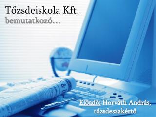 Tozsdeiskola Kft.
