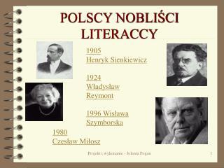 POLSCY NOBLISCI LITERACCY