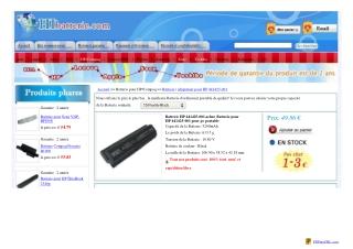 Batterie portable pour HP 441425-001