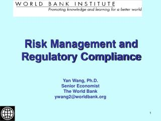 Risk Management and Regulatory Compliance