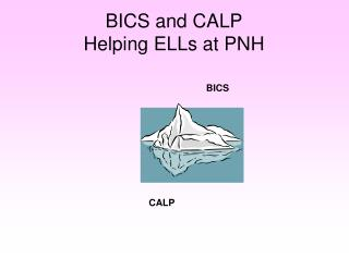 BICS and CALP Helping ELLs at PNH