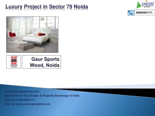 Gaur Sports Wood- Residential Project