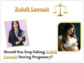Zoloft Lawsuit