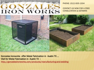 Metal Fabrication Austin TX