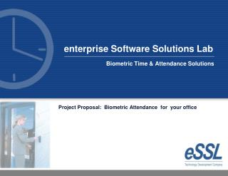Biometric Time  Attendance Solutions