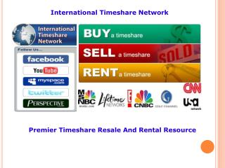 international timeshare network