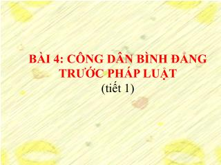B I 4: C NG D N B NH  NG TRUC PH P LUT  tit 1