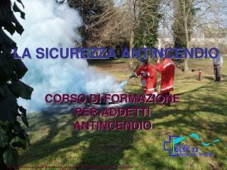 Corso Antincendio 1