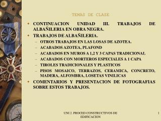 TEMAS DE CLASE