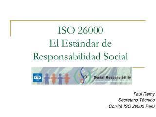 ISO 26000 El Est
