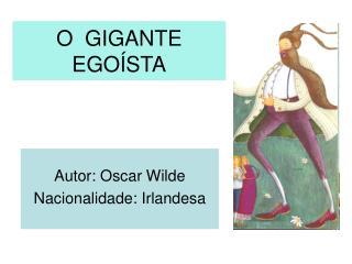 O GIGANTE EGO