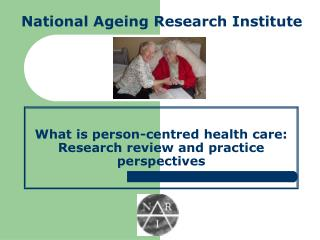 What is person-centred health care: Research review and ...