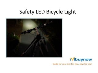 mBuyNow bicycle light