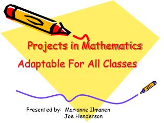 Projects in Mathematics
