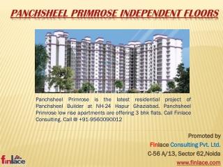 Panchsheel Primrose Independent Floors