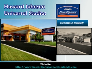 howard johnson universal studios