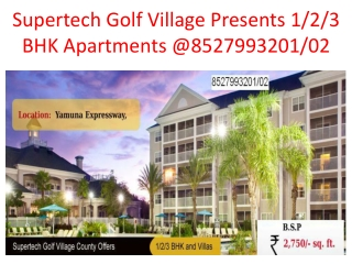 Supertech Golf Village Yamuna Expressway