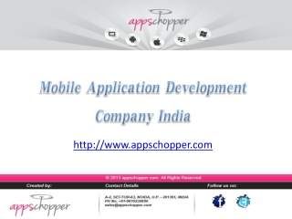 Appschopper - Affordable Mobile App Development Company
