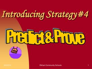 Predict and Prove PowerPoint Presentation