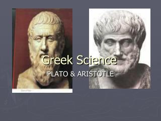 Greek Science