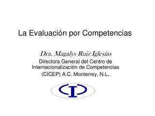 La Evaluaci n por Competencias