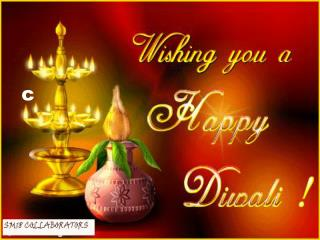 DeepaVali  or Diwali is the Indian Festival of lights.   Deepa  means lamp or light  and  Vali  means  string of .