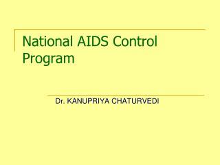 National AIDS Control Program