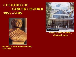 5 DECADES OF   CANCER CONTROL 1955   2005