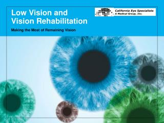 Low Vision and  Vision Rehabilitation
