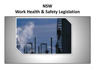 NSW Work Health  Safety Legislation