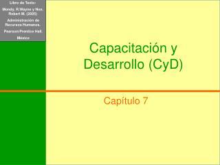 Capacitaci n y Desarrollo CyD