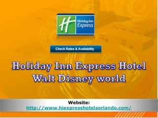 holiday inn express hotel walt disney world