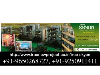 Ireo New Projects Call 9650268727