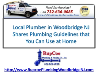 Best Woodbridge NJ Plumbing Tips for Your Home
