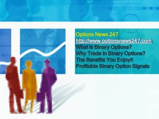 With Binary Options Trading Signals, Trading Just Got Easy!