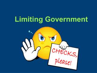 Limiting Government