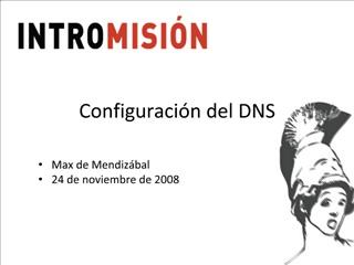 Configuraci n del DNS