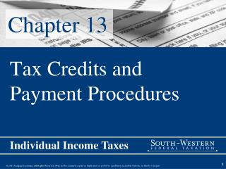 Tax Credits and Payment Procedures