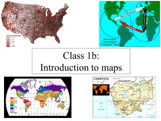Class 1b: Introduction to maps