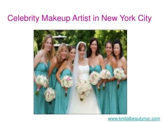 Celebrity Makeup Artist in New York City