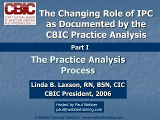 The Practice Analysis Process
