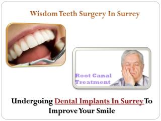 Wisdom Teeth Surgery In Surrey