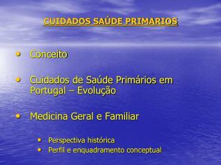CUIDADOS SA DE PRIMARIOS