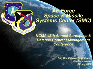 Air Force Space  Missile Systems Center SMC