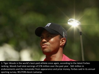 Highest-paid athletes