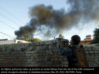 Attack on Afghan Red Cross