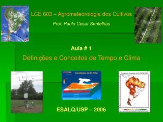 Defini  es e Conceitos de Tempo e Clima